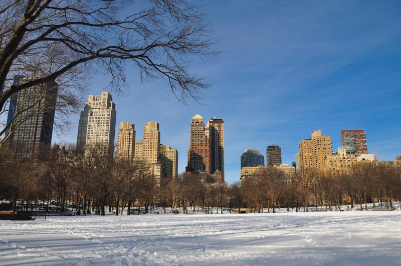 quel est le climat a new york en hiver
