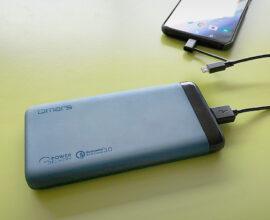 énorme batterie externe
