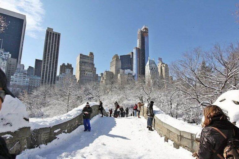 Températures à New York en hiver